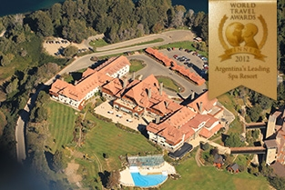 Mejor Spa Resort de la Argentina 2012.